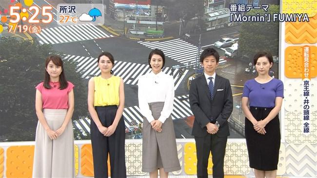 加藤シルビア~TBSの美熟女アナがノースリーブニット服で胸元を全開放!0008shikogin