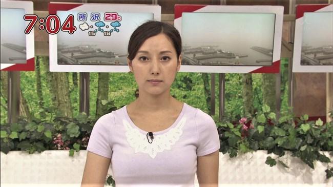 加藤シルビア~TBSの美熟女アナがノースリーブニット服で胸元を全開放!0011shikogin