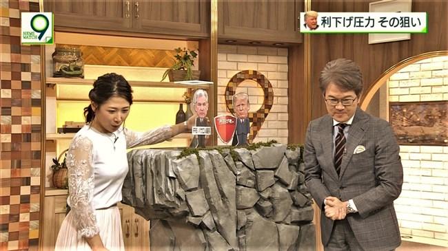 桑子真帆~ニュースウオッチ9での最新ロケットおっぱいがエロ過ぎです!0009shikogin