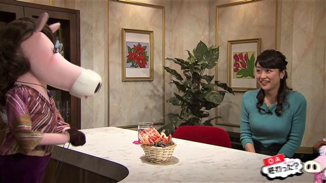 村雨美紀~札幌テレビの美人アナがニット服で巨乳アピールの極エロな姿!0004shikogin