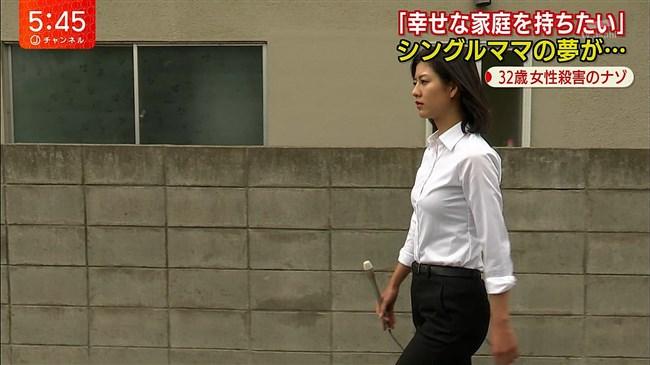 桝田沙也香~パンツルックでの取材でパンパンのヒップにパン線クッキリ!0004shikogin