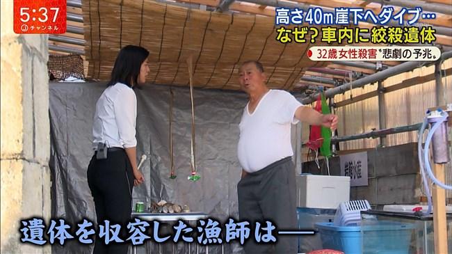 桝田沙也香~パンツルックでの取材でパンパンのヒップにパン線クッキリ!0009shikogin