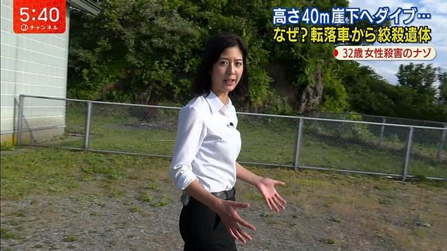 桝田沙也香~パンツルックでの取材でパンパンのヒップにパン線クッキリ!0014shikogin