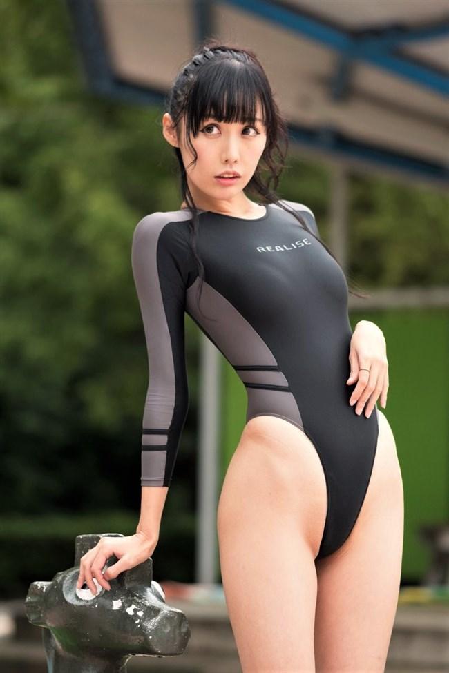 稲森美優~透け透けの競泳水着姿が今までに無いエロさで股間を刺激します!0008shikogin