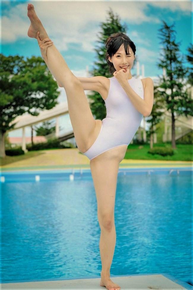稲森美優~透け透けの競泳水着姿が今までに無いエロさで股間を刺激します!0010shikogin