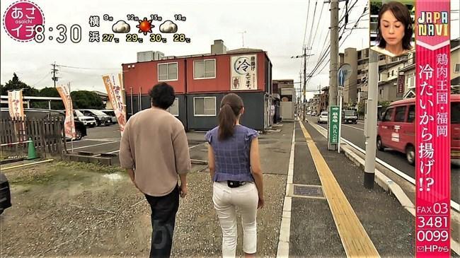庭木櫻子~あさイチでNHK福岡のアイドルアナが白パンにパン線クッキリ!0010shikogin