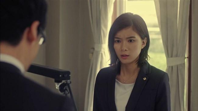 芳根京子~ドラマTWO WEEKSでお辞儀をした瞬間、胸の谷間が見え超興奮!0002shikogin