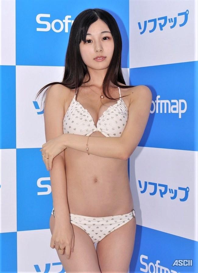 くりえみ(栗田恵美)~ソフマップでの白ビキニ姿が抱き心地良さそうで極エロ!0002shikogin