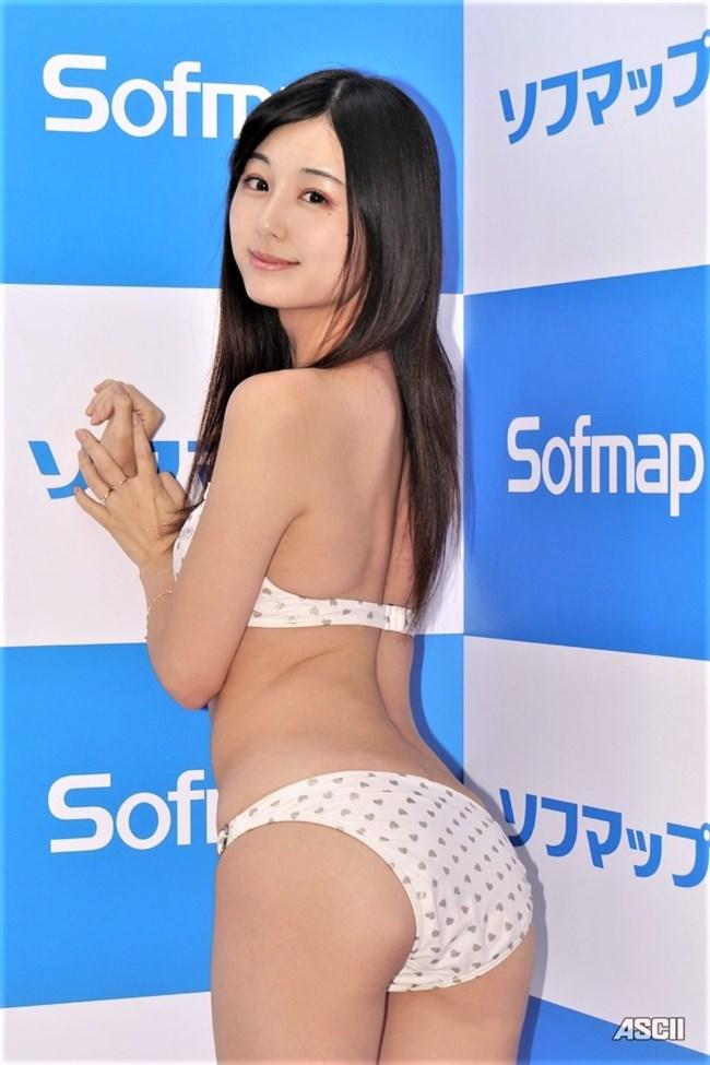 くりえみ(栗田恵美)~ソフマップでの白ビキニ姿が抱き心地良さそうで極エロ!0008shikogin