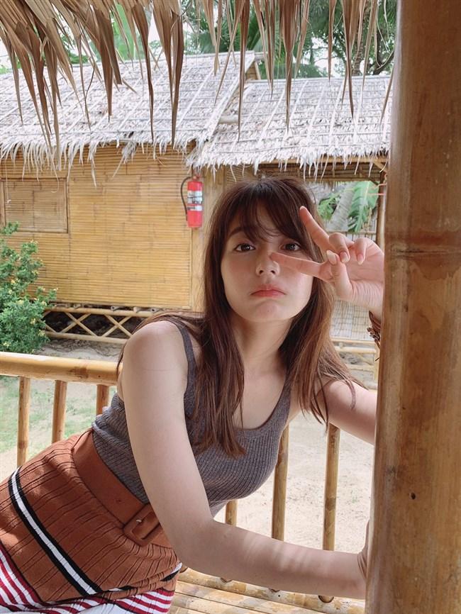 宇垣美里~ネット写真集での胸の膨らみと谷間がちょっぴりのプチエロ!0006shikogin