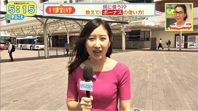 臼井佑奈~静岡第一テレビDスポでのニット服の胸の膨らみはエロ過ぎヤバい!0012shikogin