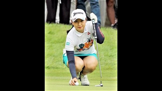 小祝さくら~女子ゴルフ界の若手新星!オッパイ大きくてムッチリボディー!0004shikogin