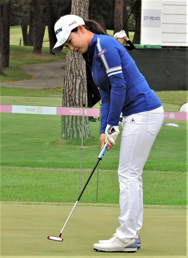小祝さくら~女子ゴルフ界の若手新星!オッパイ大きくてムッチリボディー!0013shikogin