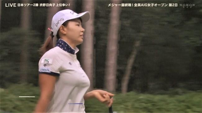 澁野日向子~全英女子オープン優勝の女王は可愛くて超巨乳のエロボディー!0005shikogin