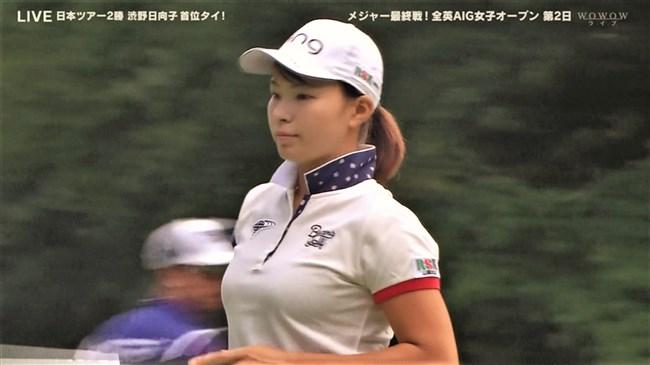 澁野日向子~全英女子オープン優勝の女王は可愛くて超巨乳のエロボディー!0008shikogin