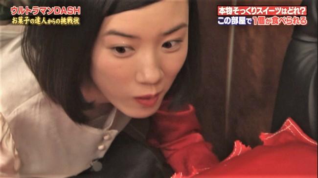 永野芽郁~クイズッスでのインナーが透けているワンピ姿がエロカワ!0011shikogin