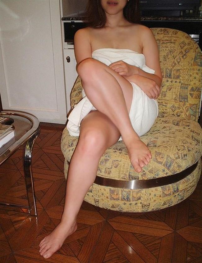 風呂あがりのバスタオル姿にムラムラして一回戦始めてしまいそうなエロ画像0030shikogin