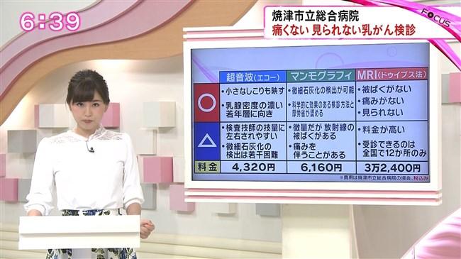 垣内麻里亜~乳がん検診レポートを受けオッパイをモニター越しで見せた!0007shikogin