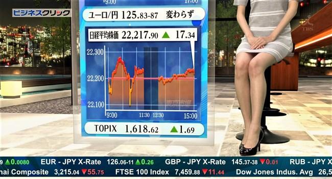 阿部菜渚美~TBSビジネスクリックでのパンチラしそうな美脚が悩まし過ぎる!0011shikogin