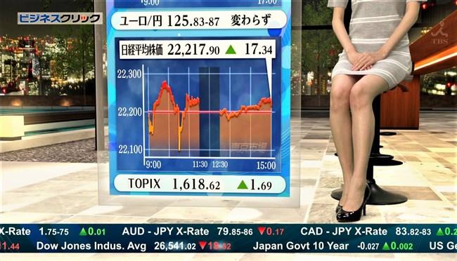 阿部菜渚美~TBSビジネスクリックでのパンチラしそうな美脚が悩まし過ぎる!0012shikogin
