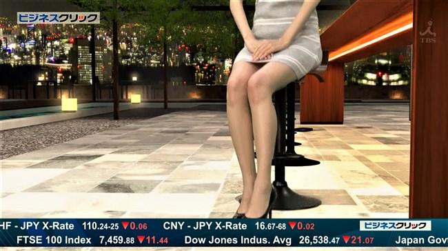 阿部菜渚美~TBSビジネスクリックでのパンチラしそうな美脚が悩まし過ぎる!0013shikogin