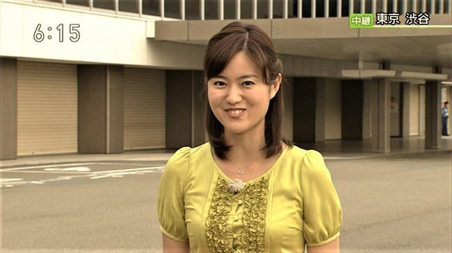 渡辺蘭~NHK気象予報士のピアノを弾く姿はオッパイがデカくてエロ可愛い!0003shikogin