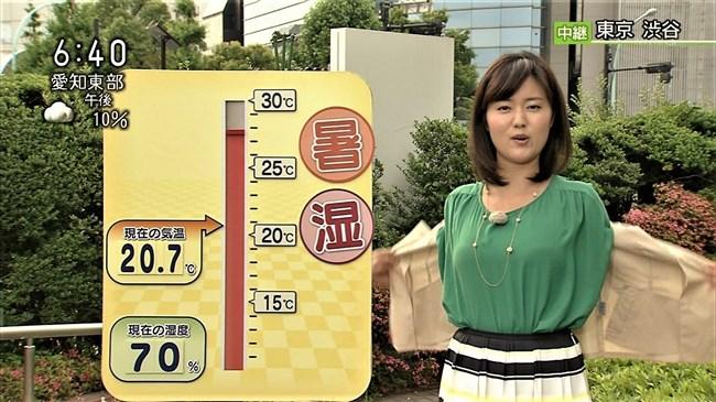 渡辺蘭~NHK気象予報士のピアノを弾く姿はオッパイがデカくてエロ可愛い!0005shikogin