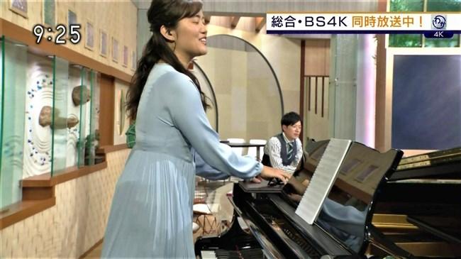 渡辺蘭~NHK気象予報士のピアノを弾く姿はオッパイがデカくてエロ可愛い!0008shikogin