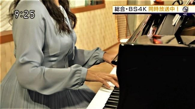 渡辺蘭~NHK気象予報士のピアノを弾く姿はオッパイがデカくてエロ可愛い!0011shikogin