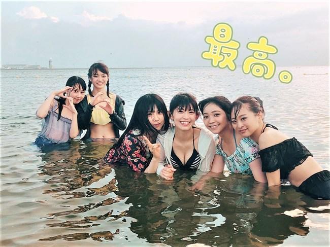 岡田美紅[SKE48]~推定Eカップのデカオッパイを大胆に出した水着グラビアが凄過ぎるぞ!0012shikogin