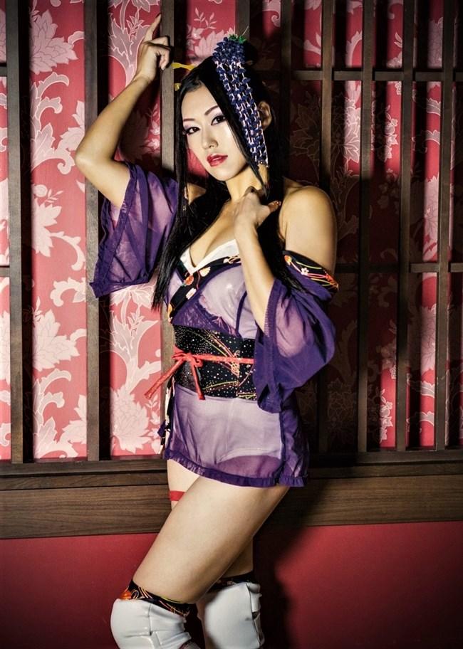 夏すみれ~女子プロレス界きっての美女でエロボディー!コスプレ姿が最高!0004shikogin