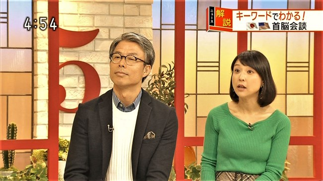 守本奈実~NHKの真面目な美熟女アナが初めてオッパイの膨らみを見せ超興奮!0004shikogin