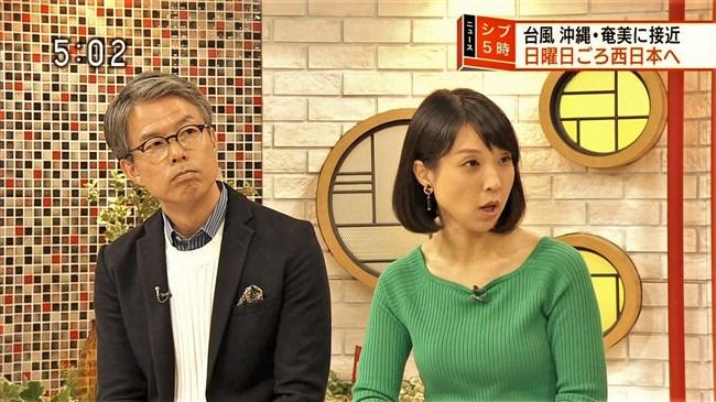 守本奈実~NHKの真面目な美熟女アナが初めてオッパイの膨らみを見せ超興奮!0007shikogin