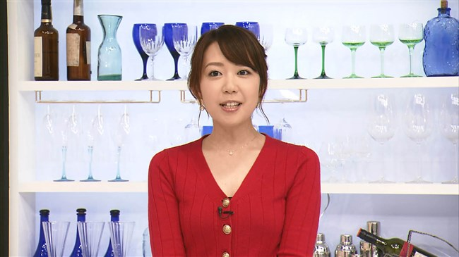 須黒清華~BSジャパン秋の激ウマ食材探検隊にて胸の谷間を出しまくりで興奮!0002shikogin