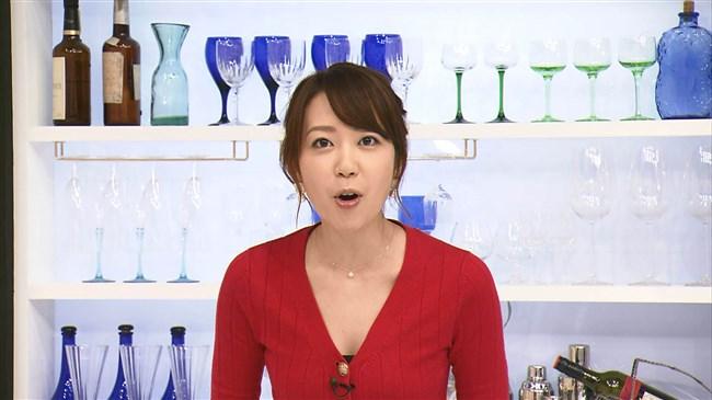 須黒清華~BSジャパン秋の激ウマ食材探検隊にて胸の谷間を出しまくりで興奮!0004shikogin