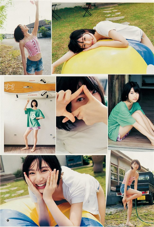 池間夏海~超可愛い若手女優のヤングジャンプ水着グラビア!股間が超エロい!0007shikogin
