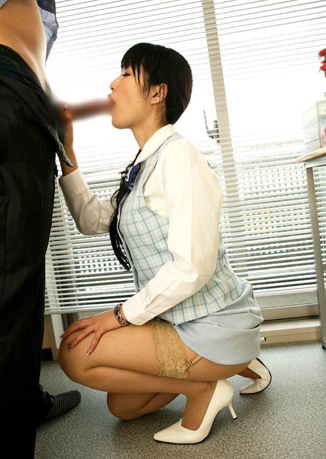 勤務中に社内の美人OLにフェラさせる妄想補助するエロ画像www0023shikogin