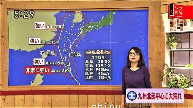 福岡良子~NHKシブ5時で久々にニット服姿でエロい胸元のラインを見せ魅了!0012shikogin