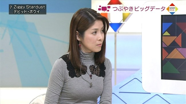 鎌倉千秋~ココ最近のクローズアップ現代での胸の膨らみと美脚を厳選特集!0003shikogin
