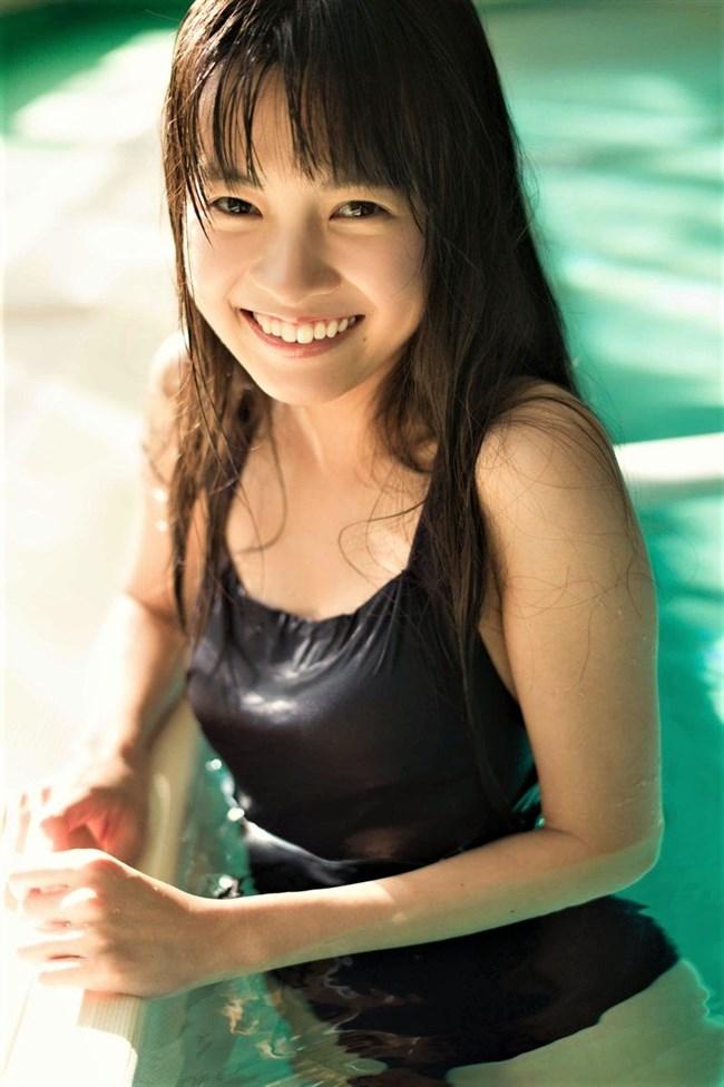 新篠由芽~週プレの初水着グラビアにドキリ!超美少女でオッパイも大きく逸材!0003shikogin