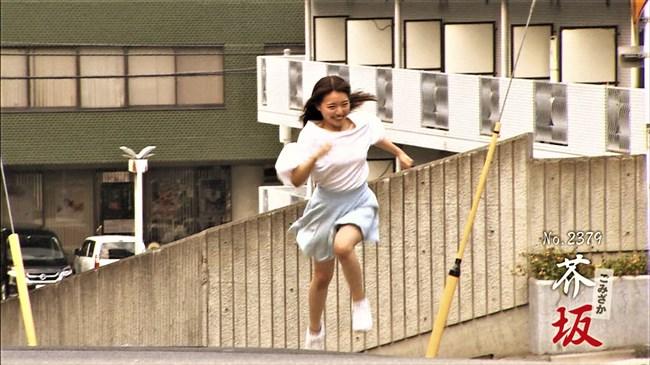 岩戸千晴~空手チャンピオン美女が全力坂に挑戦!微乳の膨らみとチラ加減が最高!0003shikogin