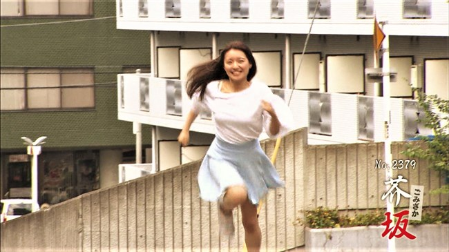 岩戸千晴~空手チャンピオン美女が全力坂に挑戦!微乳の膨らみとチラ加減が最高!0004shikogin