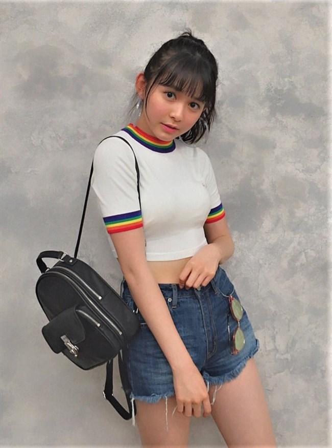 久間田琳加~人気沸騰中モデルのグラビアは意外とオッパイの膨らみがあってエロい!0005shikogin