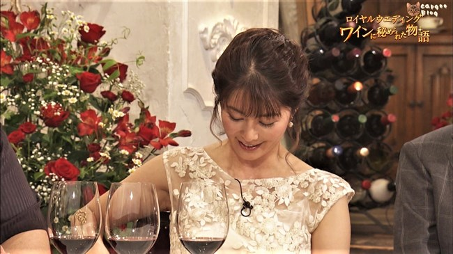 杉浦友紀~ロイヤルウエディングでのブラが透けて見えるドレス姿は永久保存です!0009shikogin