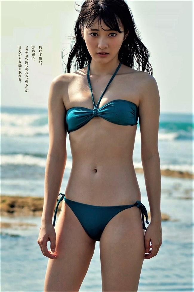 古賀哉子~週プレの水着グラビアは女優としてのオーラが出ていて極エロ!0006shikogin