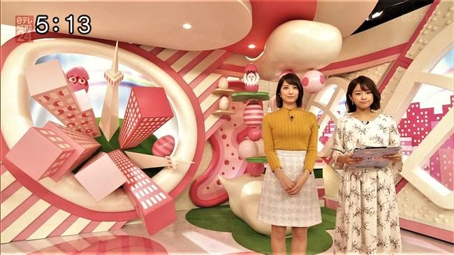 笹崎里菜~最近は特にピチピチのニット服でオッパイを強調している感じがする!0006shikogin
