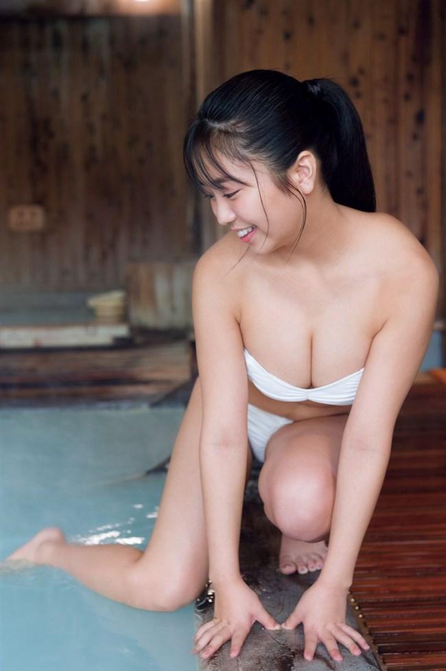 大原優乃~週刊少年マガジンの水着グラビアでまさかの乳輪写り込みで騒然!0006shikogin