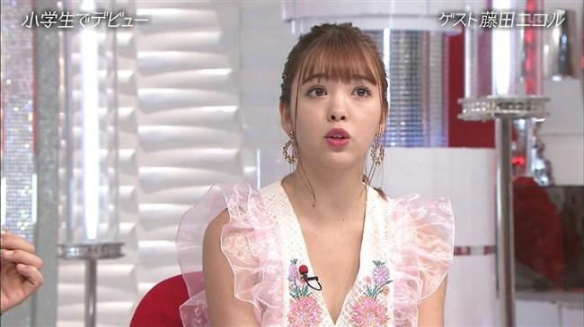 藤田ニコル~おしゃれイズムでの胸元が大きく空いたドレス姿がエロ可愛過ぎる!0004shikogin
