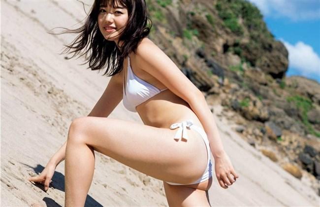 萩田帆風~日本一可愛い女子高生の週プレ水着グラビアはエロ過ぎてヤバい!0006shikogin