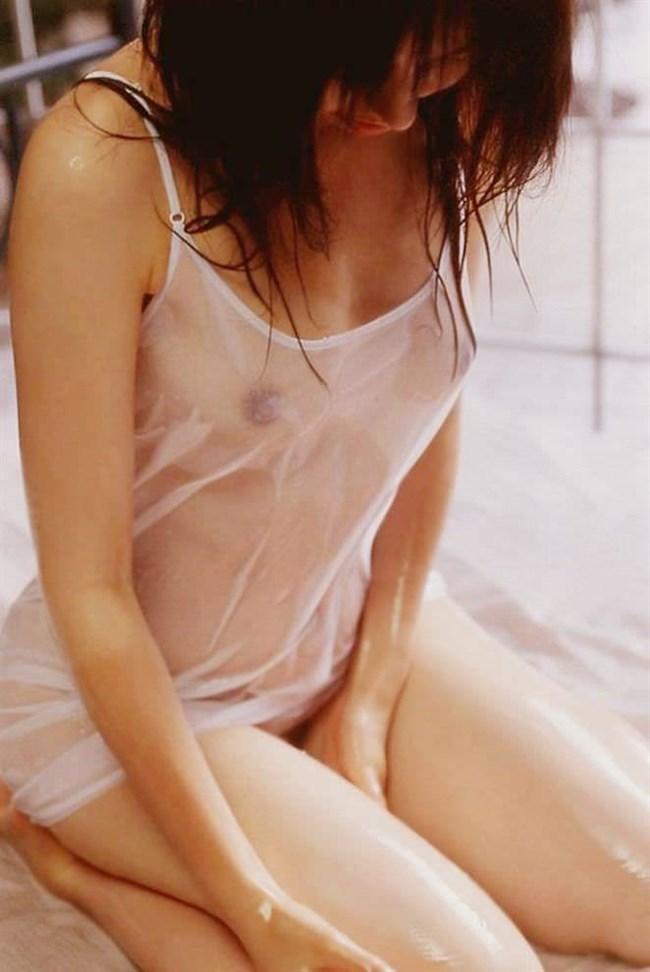 ノーブラで濡れたシャツ越しに見る透け乳首がエロ過ぎてwwwww0020shikogin